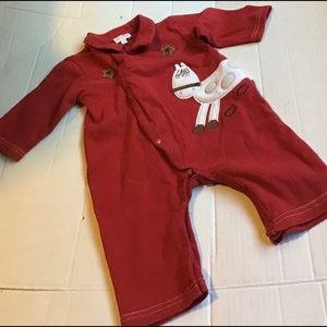 LE Top. One Pice Romper. 6 Month